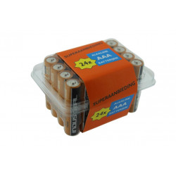 BATTERIJ DURACELL LR3  AAA 1,5V /tray /24st