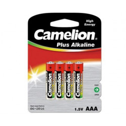 BATTERIJ CAMELION LR03 AAA 1,5V /BLISTER v.4st