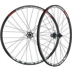 MICHE WIELEN SET CROSS DX (24mm) - TUBELAR - SHIMANO centerlock