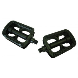 PEDALEN KINDER ZWART PVC M20 - M24