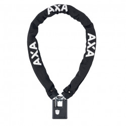 AXA KETTING CLINCH+ 105 cm - 7,5mm ZWART SOFT
