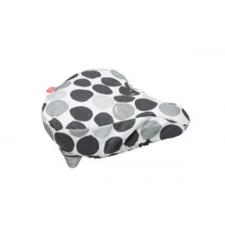 FIETSTAS NEW LOOXS ZADELOVERTREK Dots Black (145.191) (26x23x7 cm)