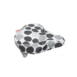FIETSTAS NEW LOOXS ZADELOVERTREK Dots Black (145.191) (26x23x7 cm)