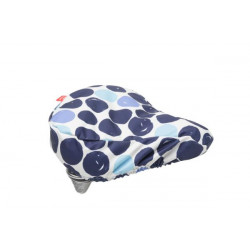FIETSTAS NEW LOOXS ZADELOVERTREK Dots Blue (145.192) (26x23x7 cm)
