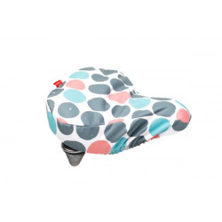 FIETSTAS NEW LOOXS ZADELOVERTREK Dots Multi (145.193) (26x23x7 cm)
