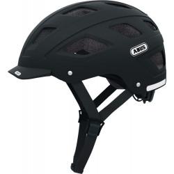 ABUS HELM HYBAN velvet black M/L 56-61CM***