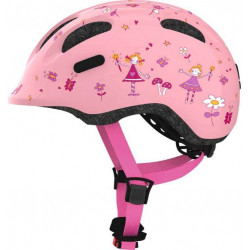 ABUS KINDERHELM SMILEY 2.0 rose PRINCESS - MEDIUM