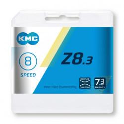 KETTING KMC Z8.3 SILVER/GREY 114L + LINK 7.3mm BOX