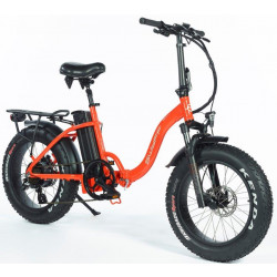 """VOUWFIETS SWYFF MadMax 20"""" - 840Wh - 17.5ah - 48V - ORANGE"""