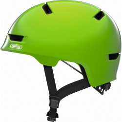 ABUS KINDERHELM SCRAPER KID 3.0 shiny green - S 51-55cm