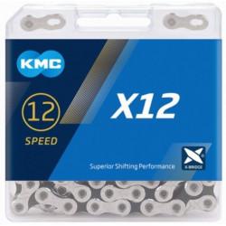 KETTING KMC X12 SILVER/BLACK 126L+ LINK CL555R vrac/25st.
