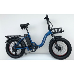 """VOUWFIETS SWYFF MadMax 20"""" - 840Wh - 17.5ah - 48V - BLUE"""