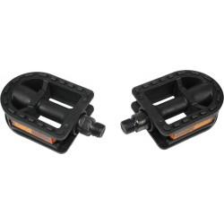 PEDALEN KINDER ZWART PVC M12 - M18