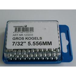 KOGELS  7/32 5.556mm MARABU GROS VOORNAAF RACE 144 stuks