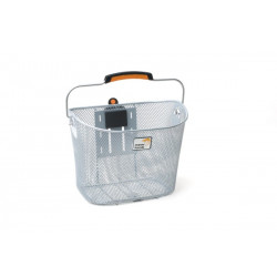 FIETSMAND NEW LOOXS TOSCANE afn. TURNLOCK SILVER (100036.702)****