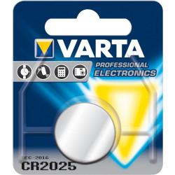 BATTERIJ VARTA CR 2025