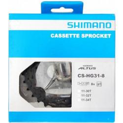 CASSETTE SHIMANO 8V ALTUS CS-HG31/11-32T MTB