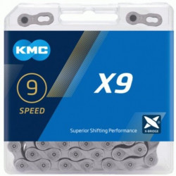 KETTING KMC X9 GREY 116L + LINK CL566R vrac/25st. (Juni 2021)