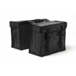 FIETSTAS NEW LOOXS BISONYL DUBBEL LARGE Black (031L.501)
