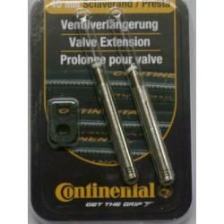 VENTIELVERLENGER CONTINENTAL 40mm blister p/2st.