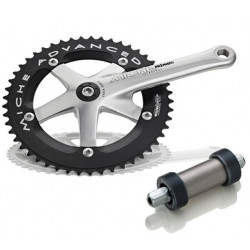 "MICHE PISTA CRANKSET ADVANCED 165  52T 1/8"" + BRACKET BSA"