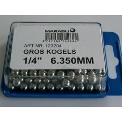 KOGELS  1/4 6.350mm MARABU GROS BRACKET+ ACHTERNAAF