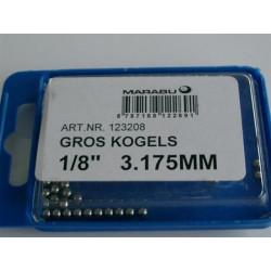 KOGELS  1/8 3.175mm MARABU GROS PEDAAL
